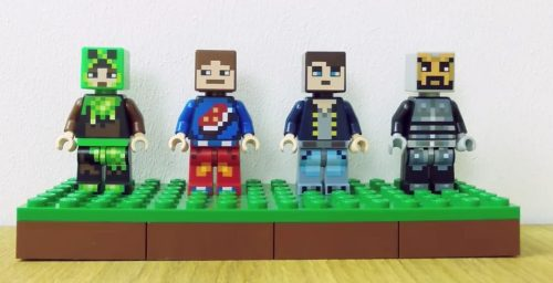 LEGO Minecraft Skin Packs