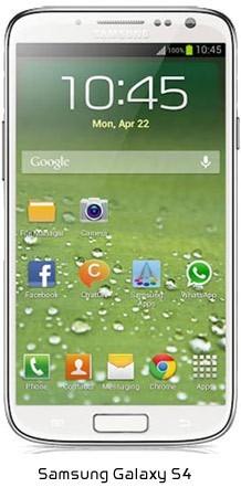 comparisonofphonesone e1376333992267 Samsung Galaxy S4