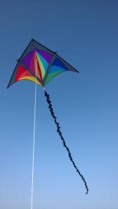 De Dan Leigh Trooper, een Deltavlieger speciaal voor hardere wind (bft 4-6).