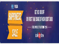 Bookmyshow Flat 100rs Off Deal (Visa Debit Card Happiness Sale Offer)