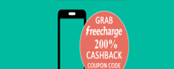 Freecharge Holi Offer : Get upto 200% Cashback on 50 or More
