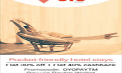 Oyo Rooms Coupons & Promo Codes -25% Off + 25% Cashback Offers