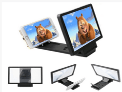 Combo Offer:Enlarged Screen For Mobile Phone + 4 in 1 OTG Cable at Basething