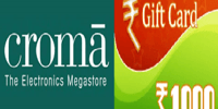 Amazon Croma Voucher -Get Direct 5% Discount on Any Croma Purchase