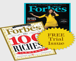 Free Magazine Trial - Get Forbes India Magazine Free Trial Issue