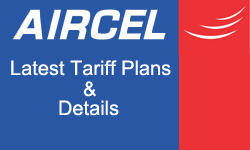 Aircel Unlimited Internet Data Packs - Starting From Rs. 9 Only
