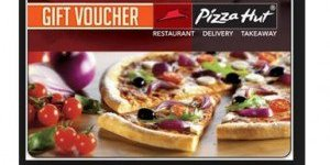 Amazon Pizza Hut Gift Card or Instant Voucher Code at Flat 25% Discount