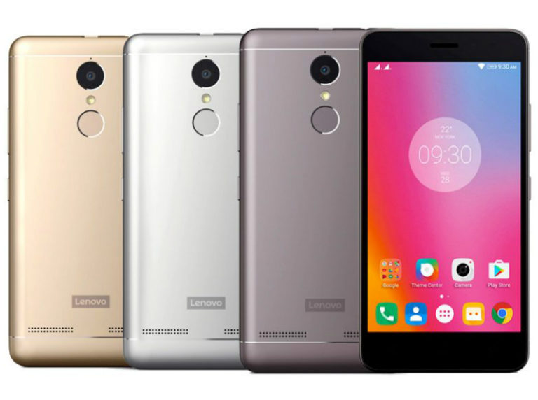 Lenovo vibe k6 power Color images