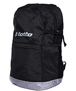 lotto black backpack image