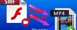 Steps to Convert SWF Video File to MP4 Free by VLC Player