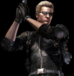 game model Albert Wesker RE5