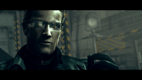Albert Wesker Resident Evil 5 shades on red eyes