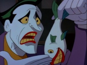 Joker fish batman the animated series