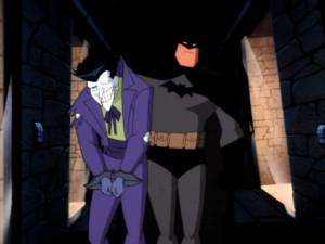 batman catches Joker batman the animated series