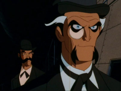 ras al ghul monacle batman animated series