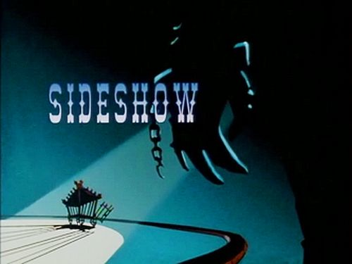 Batman the Animated Series Killer Croc Sideshow title card