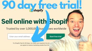 Shopify 90 Day Free Trial Released – Get In Quick! [Video]