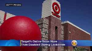 Target's Online Sales More Than Doubled During Lockdown [Video]