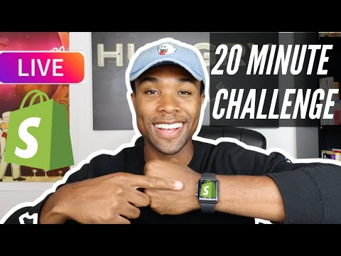 72 Hour Shopify Drop-shipping Challenge – Quarantine Products – How to create a website [Video]