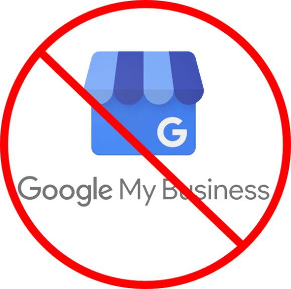 google business listings was suspended