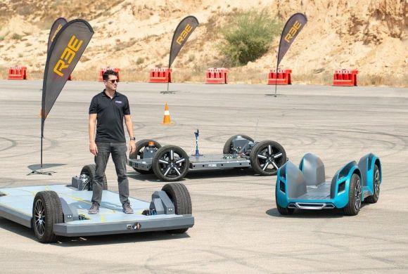 REE Automotive revs up e-engine with 3 new Next-Gen prototypes