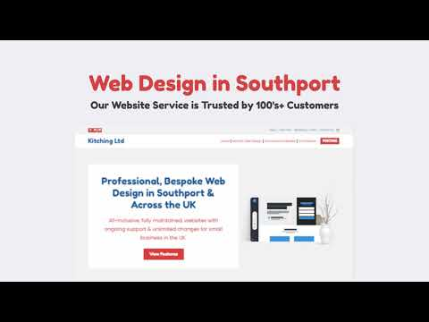 Kitching Ltd Web Design in Southport [Video]