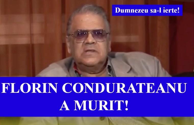 Florin Condurateanu a murit
