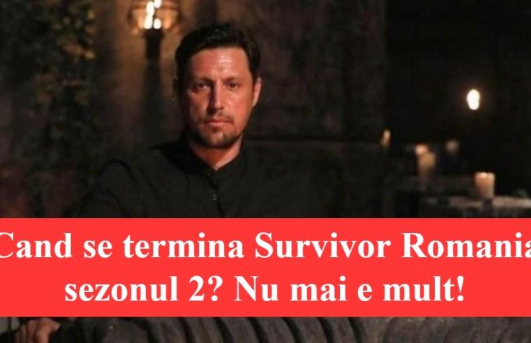 Cand se termina Survivor Romania sezonul 2