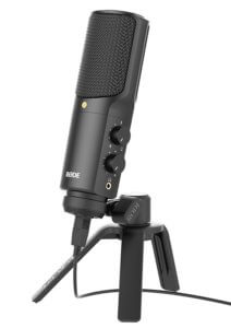 Podcast mic voice recorder