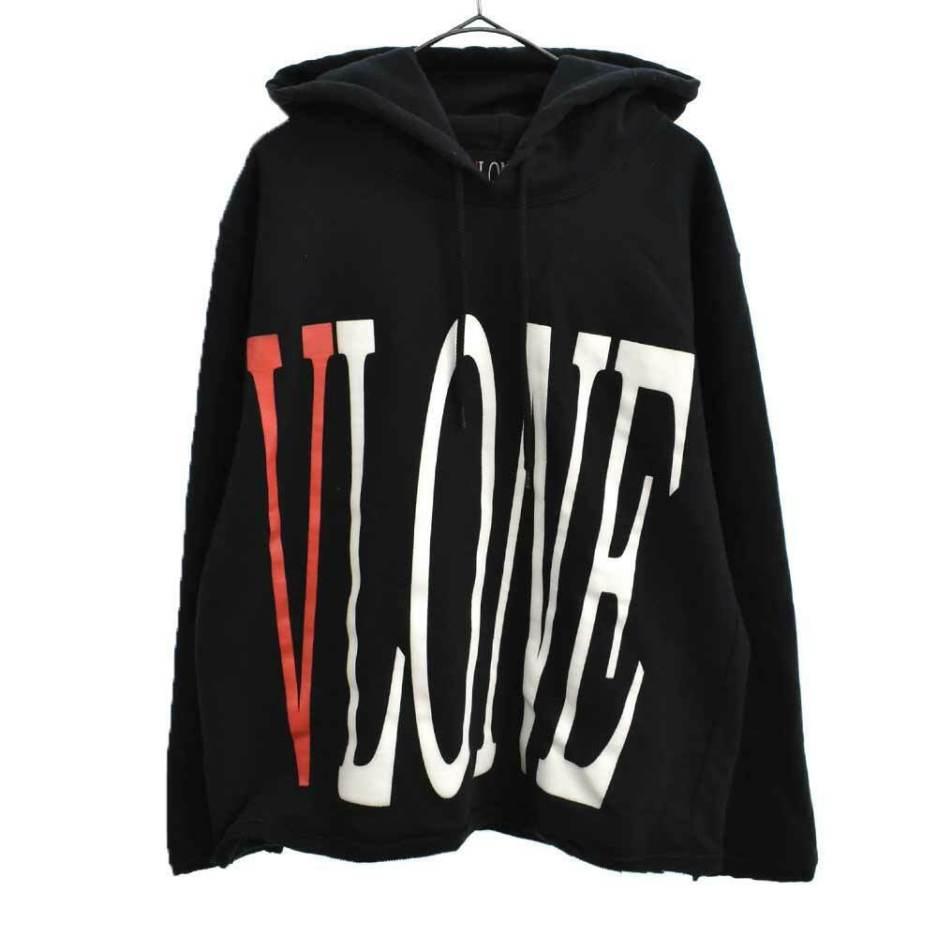 Vlone Staple pullover Black hoodie