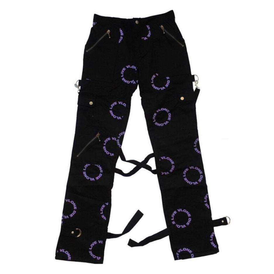 Vlone Denim Testing Black Pant