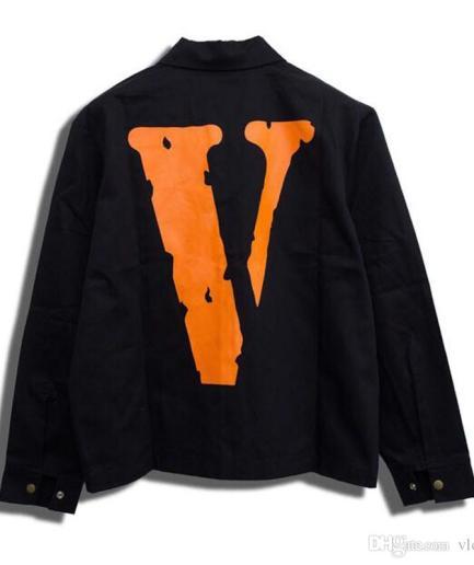 Vlone Denim Friends Black Jacket