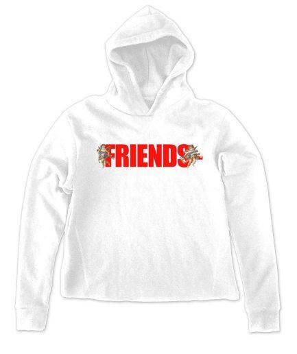 Vlone Palm Angels friends White hoodie