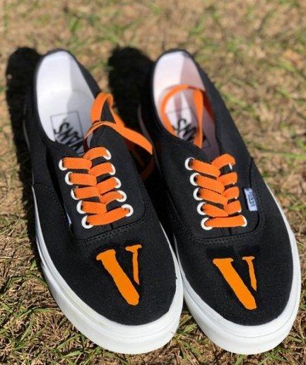 Vlone V Staple Black Shoes