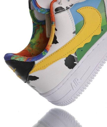 VLONE Custom Chunky Dunky White Shoes