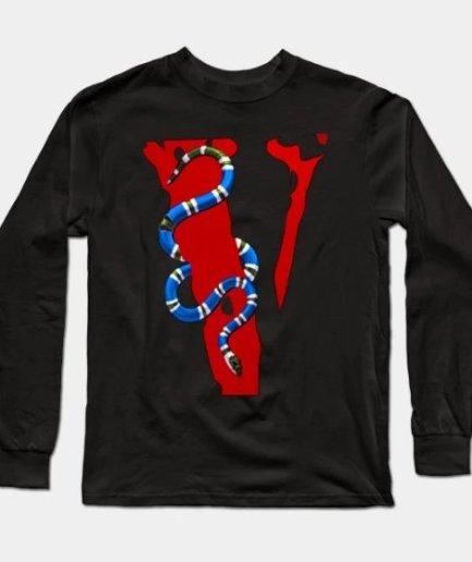 Vlone Snake Staple Sweatshirt