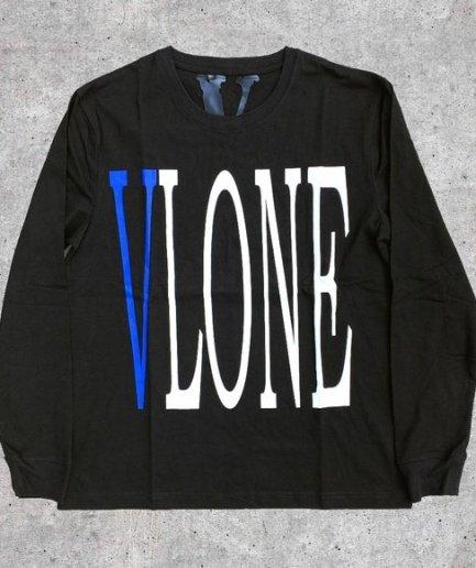 Vlone V Staple Sweatshirt Blue\Black