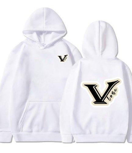 Vlone V logo White Hoodie