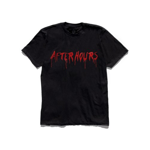 Vlone x The Weeknd After Hours Acid Drip Black Tee