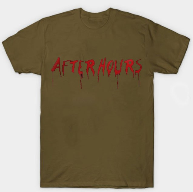 Vlone x The Weeknd After Hours Acid Drip Brown Tee