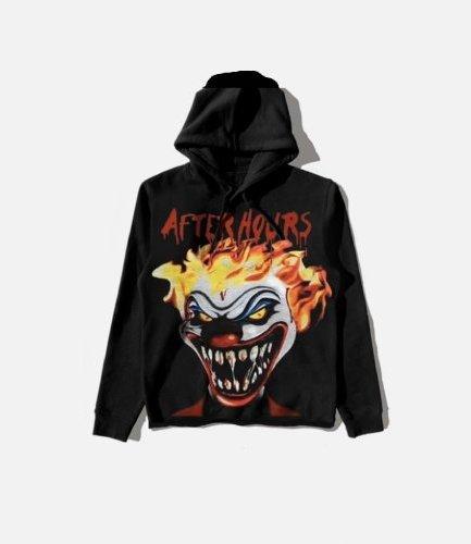 Vlone x The Weeknd After Hours Clown Black Hoodie