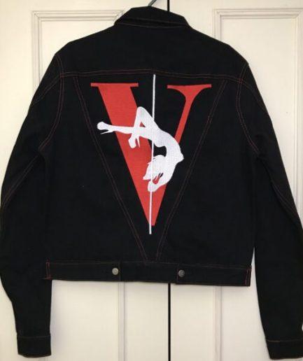 Vlone Stripper Black Jacket