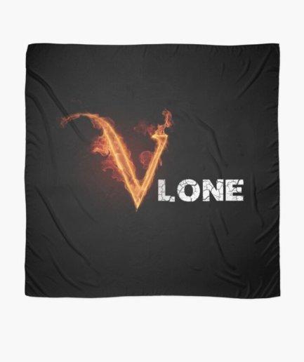 Vlone Angels Fire black Scarf