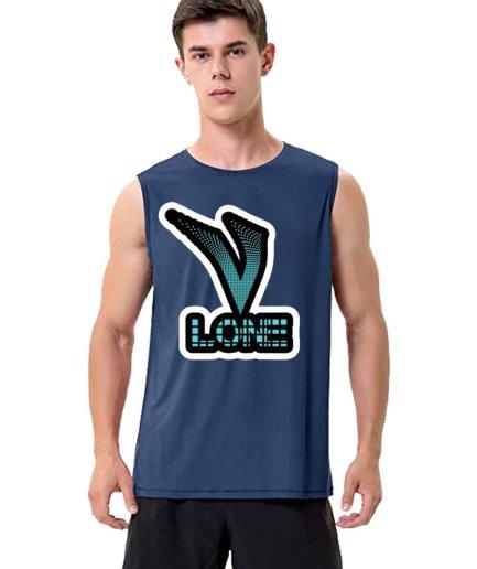 Vlone X Staple Sleeveless Shirt For Adult B'dazzled blue