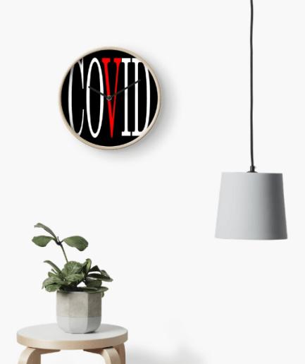 Covid Vlone Clock