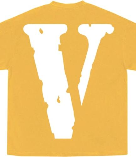YoungBoy NBA x Vlone Peace Hardly Yellow Tee