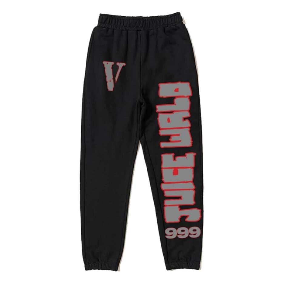 Juice Wrld x Vlone LLJW Sweatpants Black-Front