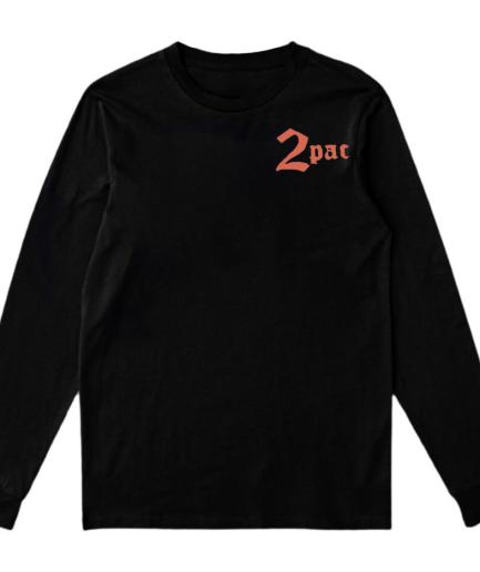 Vlone x Tupac Cross Sweatshirt – Black