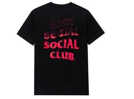 Anti Social Social Club A Fire Inside Pink Flame Tee