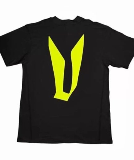 Vlone Pop Up Yellow Houston Texas T-Shirt – Black-Back